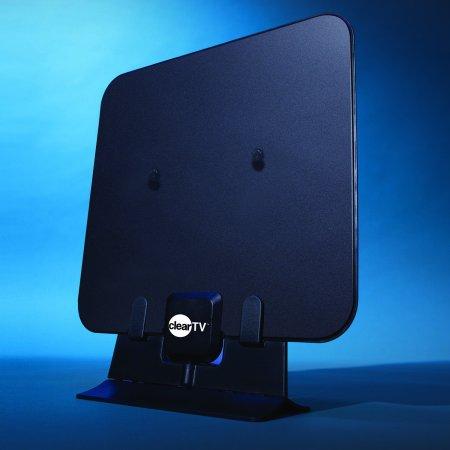 Clear TV HDTV Digital Indoor Antenna, Broadcast Network TV in HD