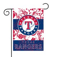 "Texas Rangers Sparo 13"" x 18"" Double-Sided Garden Flag with Pole - No Size"
