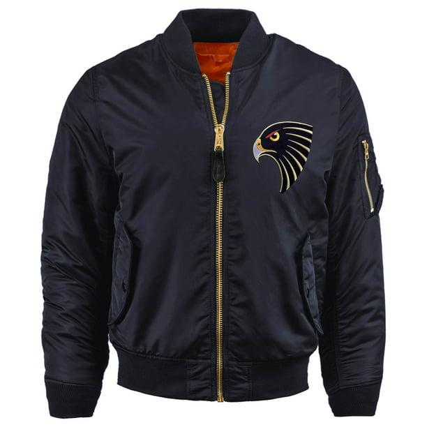 Ma Croix Mens Souvenir Bomber Jacket Premium MA-1 Flight Outerwear