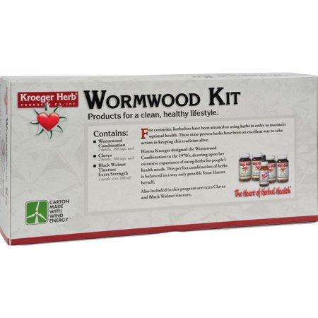 - Kroeger Herb Wormwood Parasite Control Kit - 1 Kit