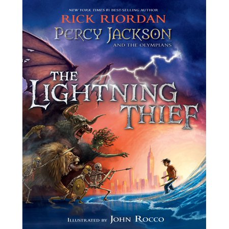 Percy Jackson and the Olympians: The Lightning Thief Illustrated Edition - (Percy Jackson And The Lightning Thief Climax)