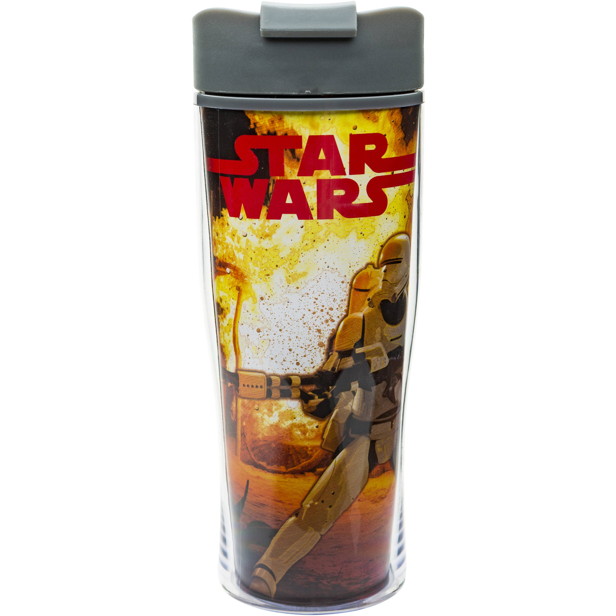 Star Wars The Force Awakens 15-Ounce Double Wall Travel Tumbler