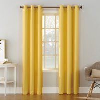 No. 918 Nathan Casual Textured Semi-Sheer Grommet Curtain Panel