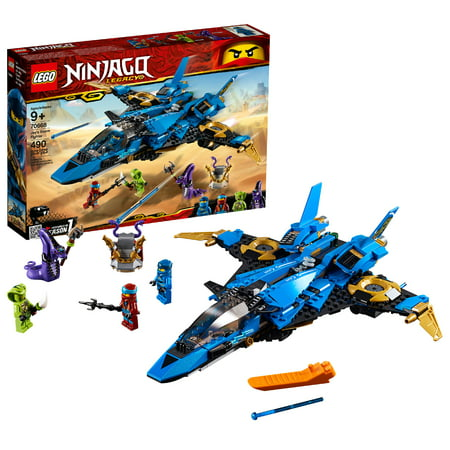 LEGO Ninjago Jay's Storm Fighter 70668 Building Set (490 Pieces) - Blue Lego Ninjago