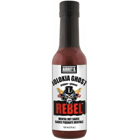 Red Hot Ghost Peppers in Aubrey D. Rebel Jolokia Ghost Hot Sauce, the Worlds Spiciest Pepper Is a Hot Heads Delight to Haunt You - Pepper Head