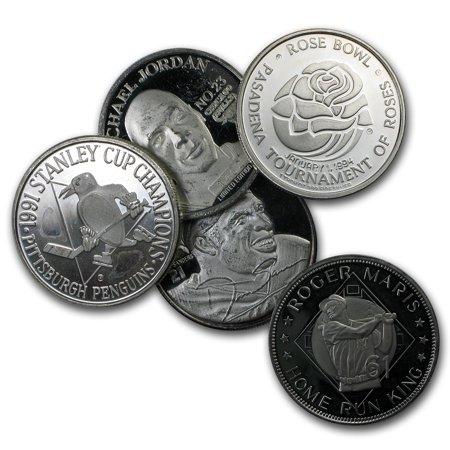 1 oz Silver Round - Sports Memorabilia (Random Motif)