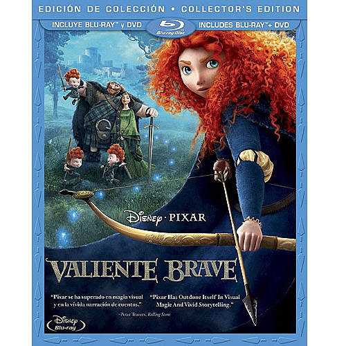 Brave (2-Disc Blu-ray   DVD) (Spanish Language Packaging) (Widescreen)
