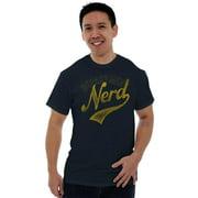 Nerd Short Sleeve T-Shirt Tees Tshirts Department Science Math Geek Sports