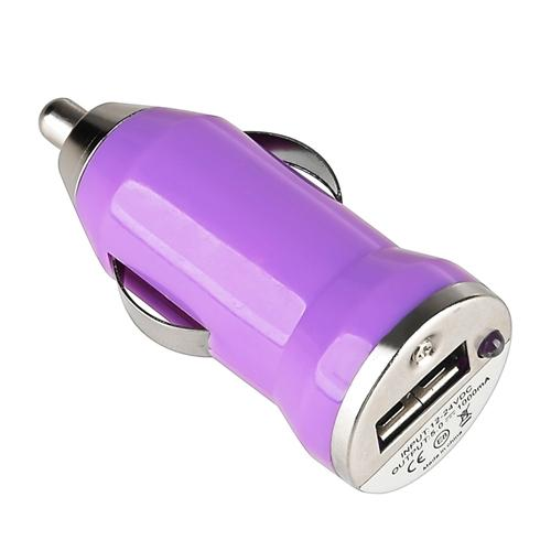 Insten USB Car Charger Adapter For iPhone 8 7 6 6s Plus SE X Samsung Galaxy S9 S9+ S8 S7 S6 S5 Note 8 5 4 J1 J3 J7 LG K7 K8v K20 V30 G6+ G5 G4 Stylo 3 2 ZTE Majesty Pro Universal Purple