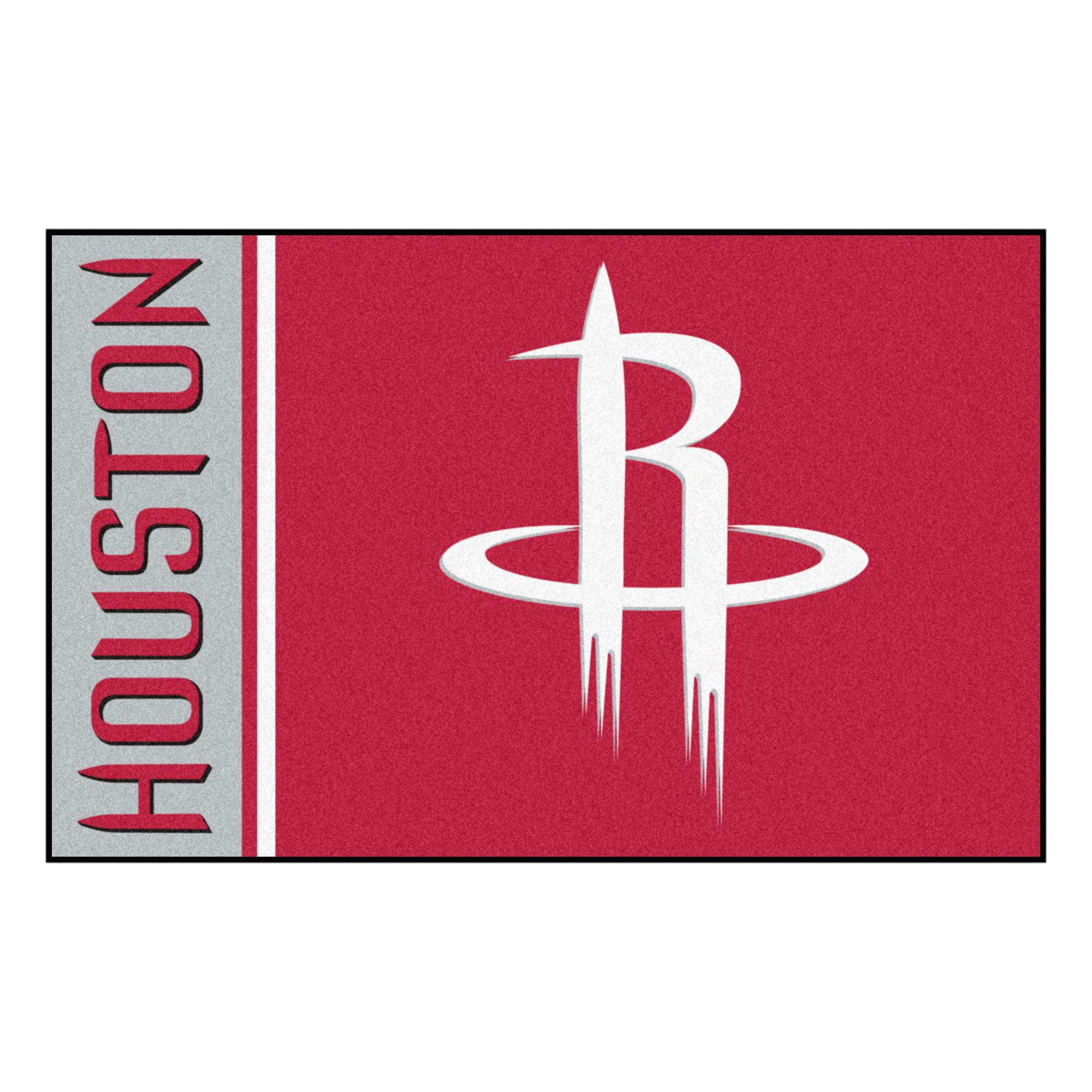 "NBA - Houston Rockets Uniform Starter Rug 19""x30"""