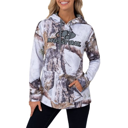 Mossy Oak and Realtree Women's Performance Pullover Hoodie ()