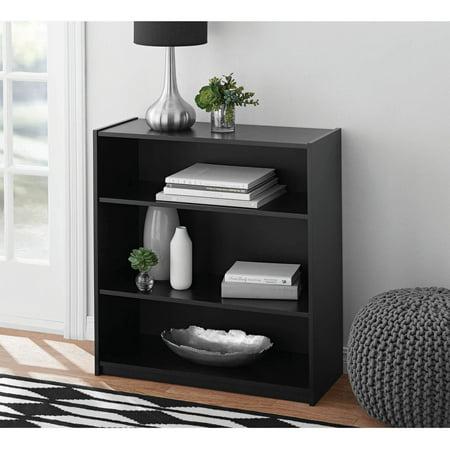 Mainstays 3-Shelf Standard Bookcase, Multiple Colors - Mainstays 3-Shelf Standard Bookcase, Multiple Colors - Walmart.com