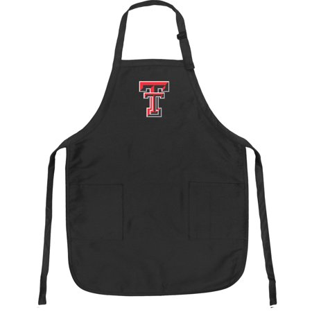 Broad Bay Texas Tech Apron DELUXE Texas Tech APRONS for Men or Women - Grilling, Kitchen, or Tailgating