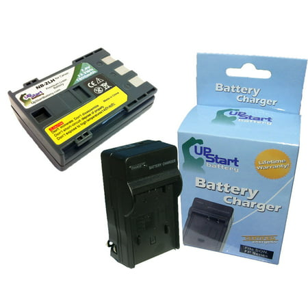 Canon E160814 Battery and Charger - Replacement for Canon NB-2LH Digital Camera Batteries and Chargers (1800mAh, 7.4V,