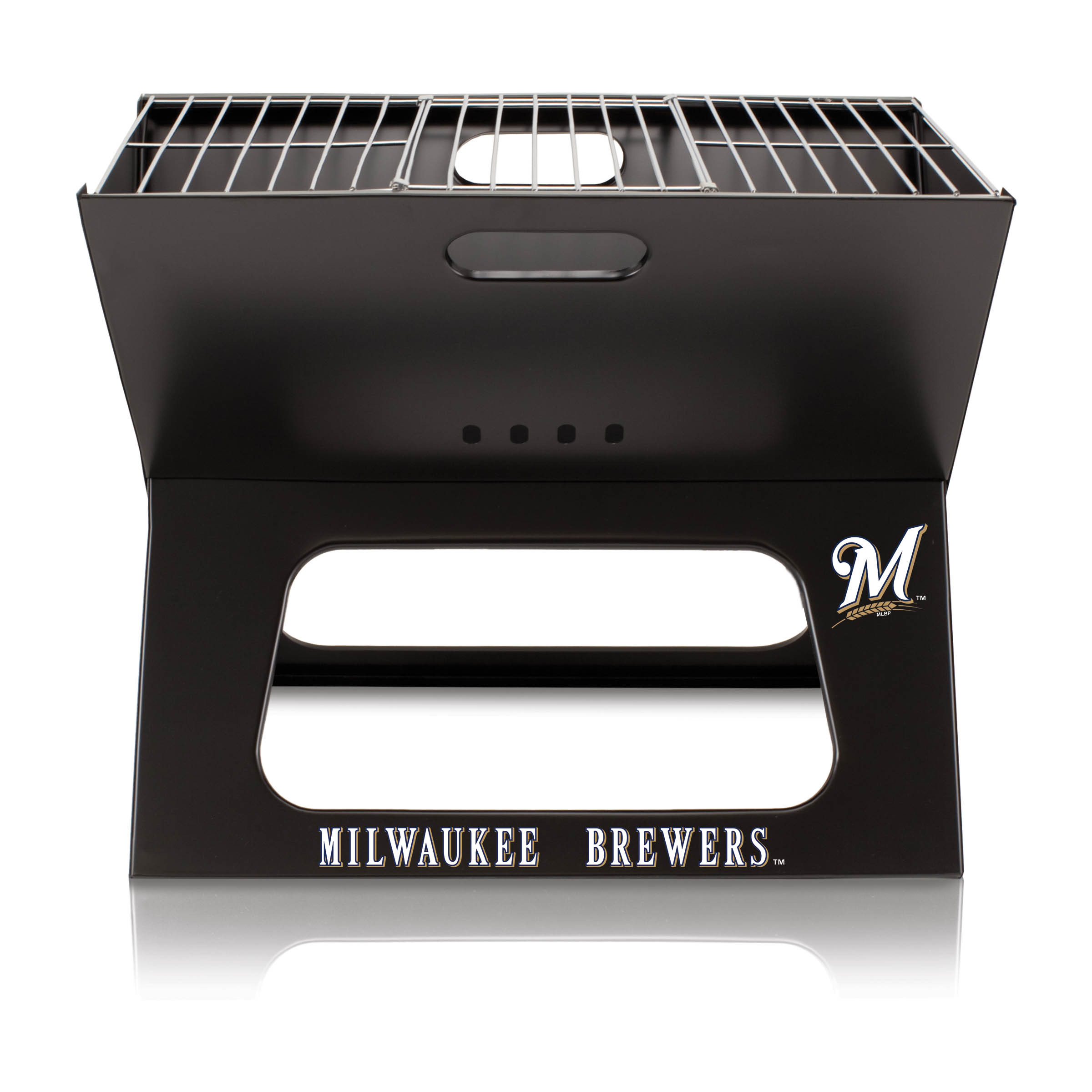 Milwaukee Brewers X-Grill Portable BBQ - No Size