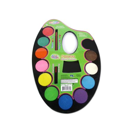 Watercolor Paint Palettes (Multicraft Watercolor Paint Palette 12)