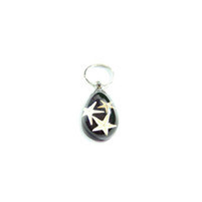 Ed Speldy East ED SPELDY EAST Key Chain Oceanic Starfish Water Drop Shape