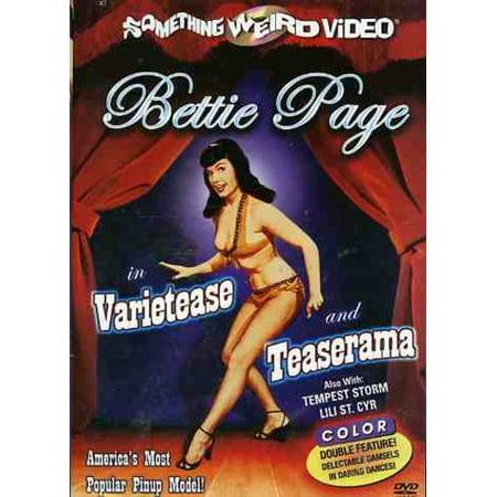Image of Bettie Page: Varietease / Teaserama