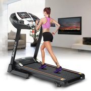 Ancheer Hascon Bluetooth Wifi+12 Running Program 2.25hp Electric Folding Treadmill With Manual Incline App control/Heart Rate Sensor HITC