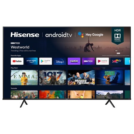 Hisense - 75 inch Class A6G Series LED 4K UHD Smart Android TV (75A6G)