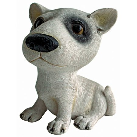 Design Toscano Prized Pup Bull Terrier Puppy Dog Figurine