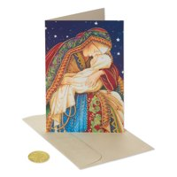 (14ct) American Greetings Premium Madonna and Child Christmas Boxed Cards and Envelopes