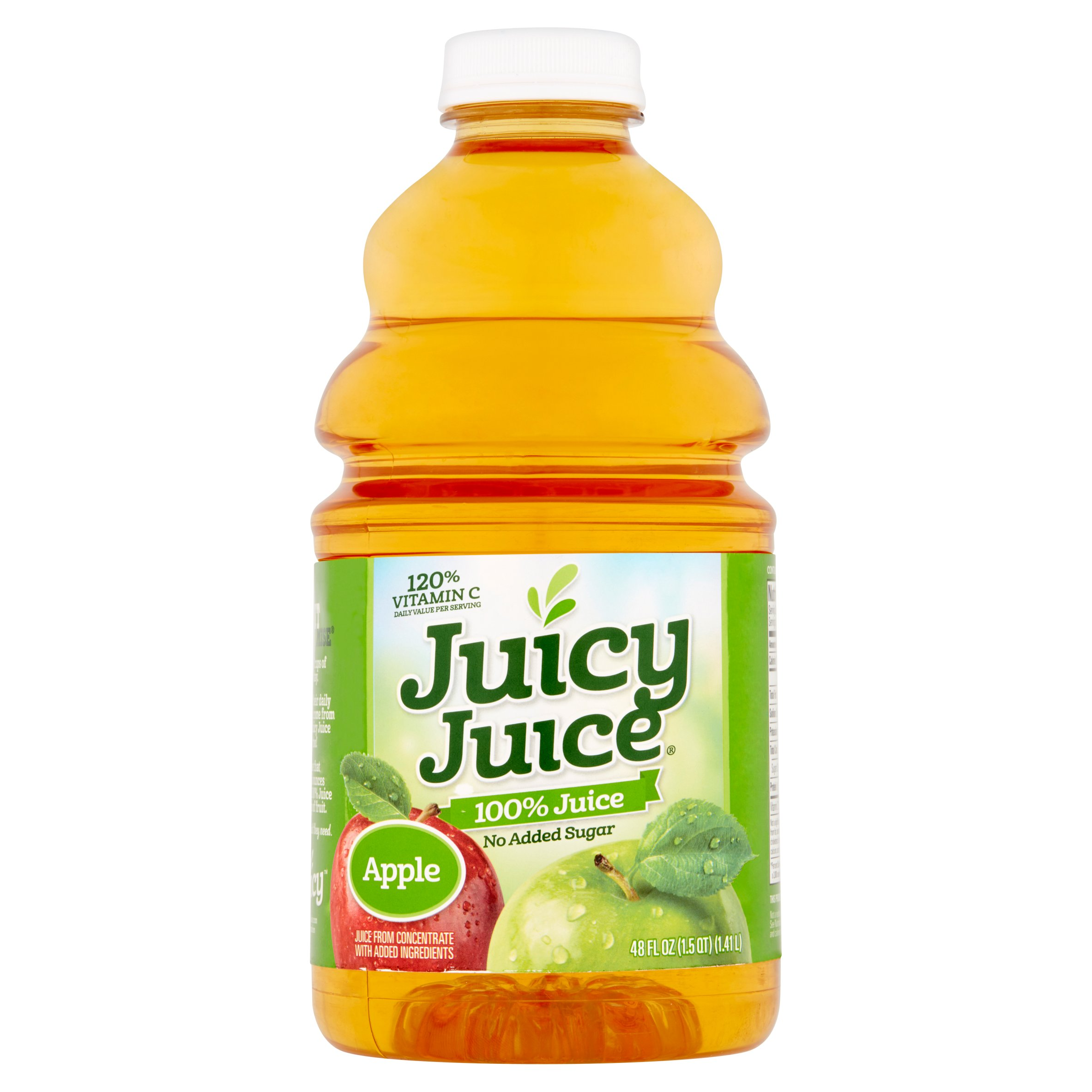 Juicy Juice Apple 100% Juice, 48 fl oz