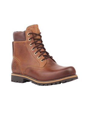 "Men's Timberland Earthkeepers Rugged 6"" Waterproof Plain Toe Boot"