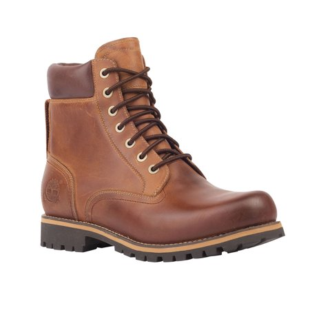 "Men's Timberland Earthkeepers Rugged 6"" Waterproof Plain Toe Boot"
