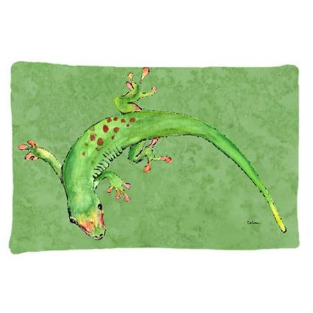Carolines Treasures 8887PILLOWCASE 20.5 x 30 in. Gecko Moisture Wicking Fabric Standard Pillow Case - image 1 of 1