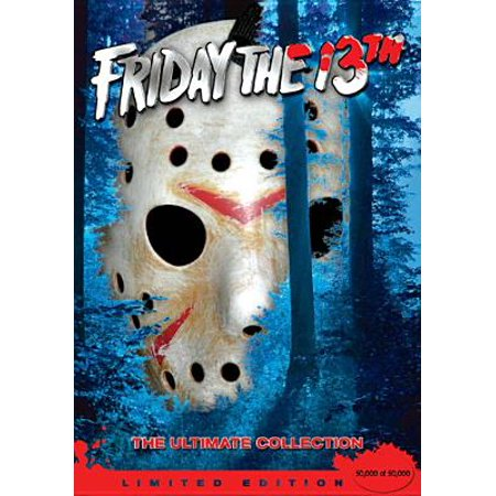 Halloween Mask Movie Quality (Friday The 13th Collection: Friday The 13th Parts 1 - 8 (Limited Edition) (With Mask And Collector's Book))