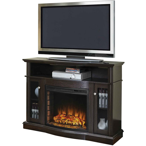Electric Fireplace Media Console Storage Living Room Furniture Heater Tv Stand Ebay