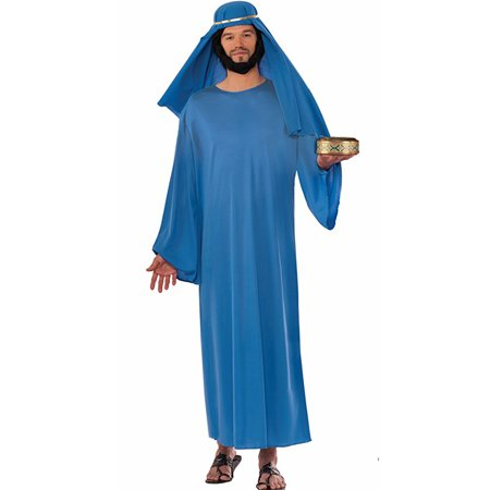 Adults Blue Wise Man Magi Religious Biblical Christmas Costume
