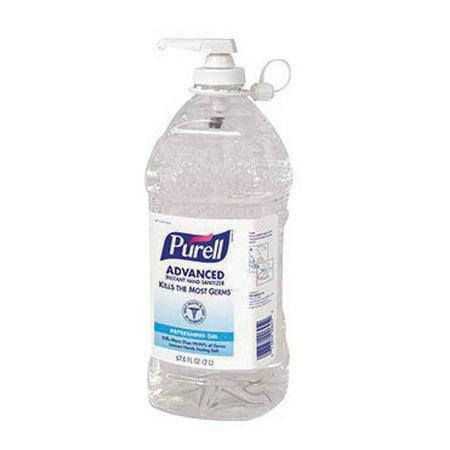 Gojo Industries 9625 04 Advanced Instant Hand Sanitizer  2L Bottle