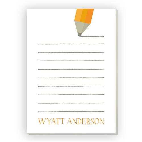 Back to School Personalized Notepad