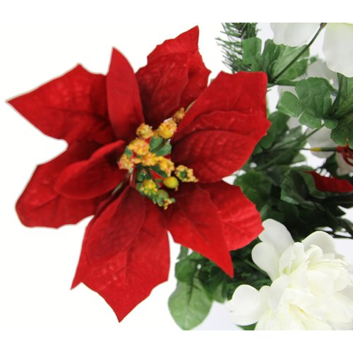 The Holiday Aisle Mixed Floral Arrangement