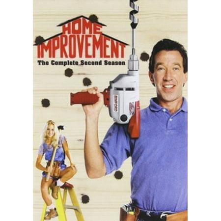 Home Improvement: The Complete Second Season (DVD) - Home Improvement Halloween Season 1