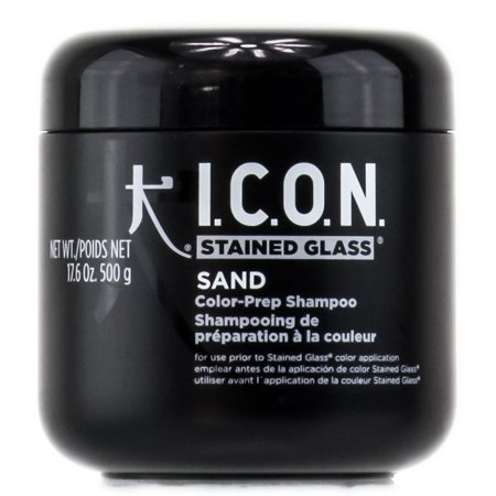 Icon Stained Glass Sand Color-Prep Shampoo - Size : 17.6 oz