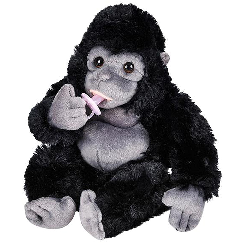 Plush Baby Gorilla with Pacifier Stuffed Animal 8 ...