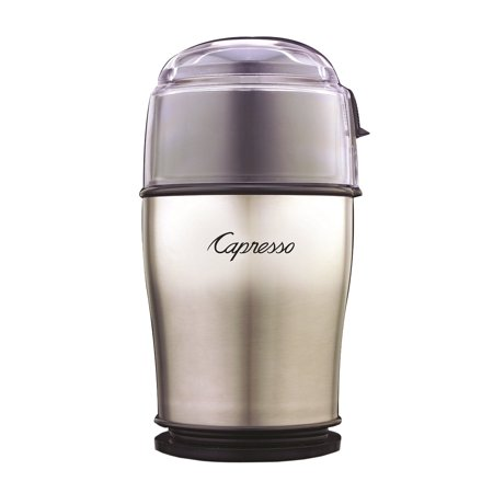 Capresso 506.05 Cool Grind Pro Coffee Grinder, Stainless