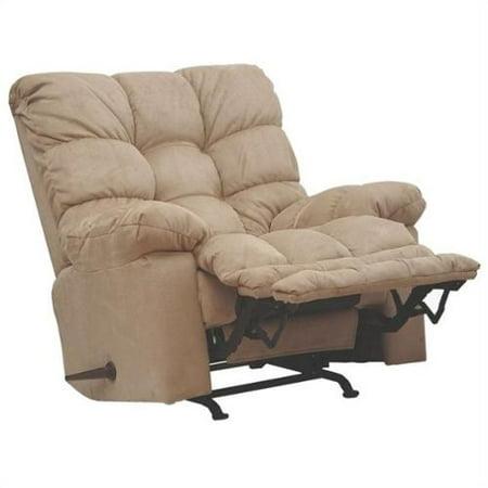Catnapper Magnum Chaise Oversized Rocker Recliner Chair In