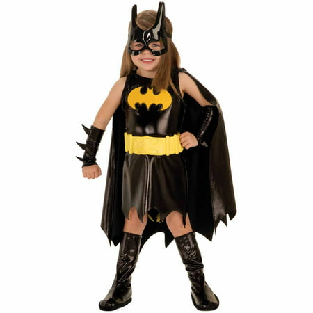Batgirl Toddler Halloween Costume, Size 3T-4T (Cheap Batgirl Costumes)