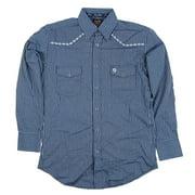 Mens Wrangler George Strait Collection Long Sleeve Shirt Large