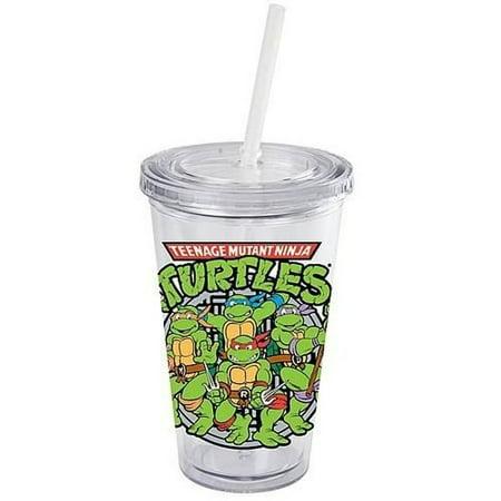 Teenage Mutant Ninja Turtles Group Sewer Travel Cup](Ninja Turtles Cups)