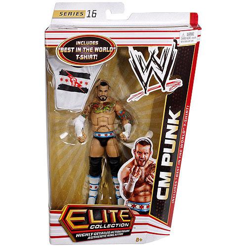 WWE Elite Action Figure, CM Punk