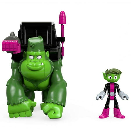 Imaginext Teen Titans Go Beast Boy And - Gorilla Convicts