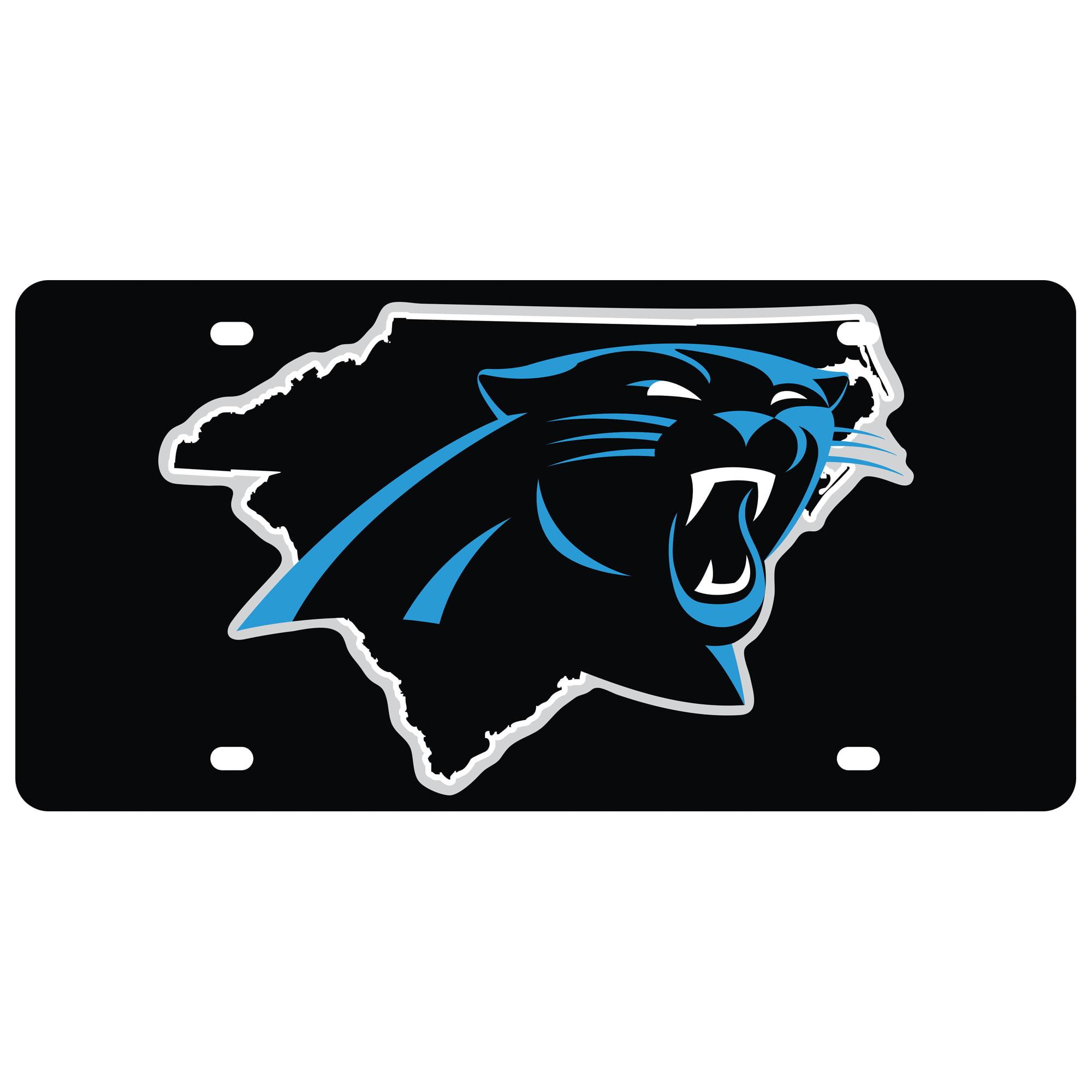 Carolina Panthers State Pride License Plate - No Size