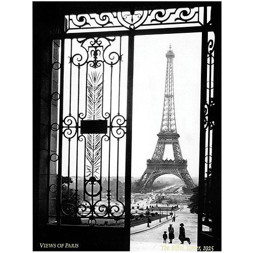 "Trademark Fine Art ""Views of Paris"" by Sally Gall"