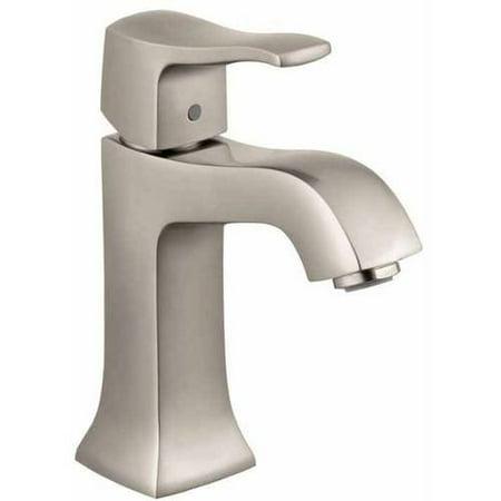 Hansgrohe 31075921 Metris C Bathroom Faucet Single Hole Faucet with Le
