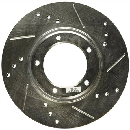 Power Stop JBR790XPR Evolution Drilled & Slotted Rotors -Front